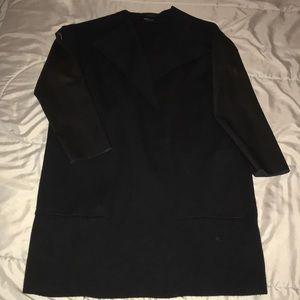 Zara knit blazer